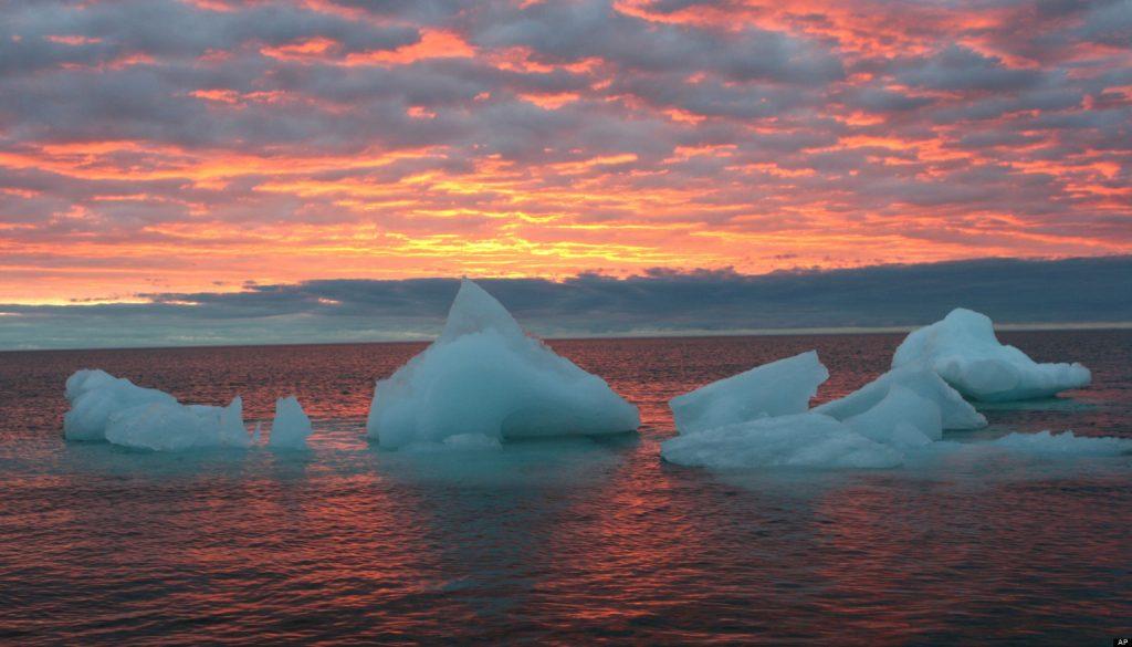 кусочки айсберга