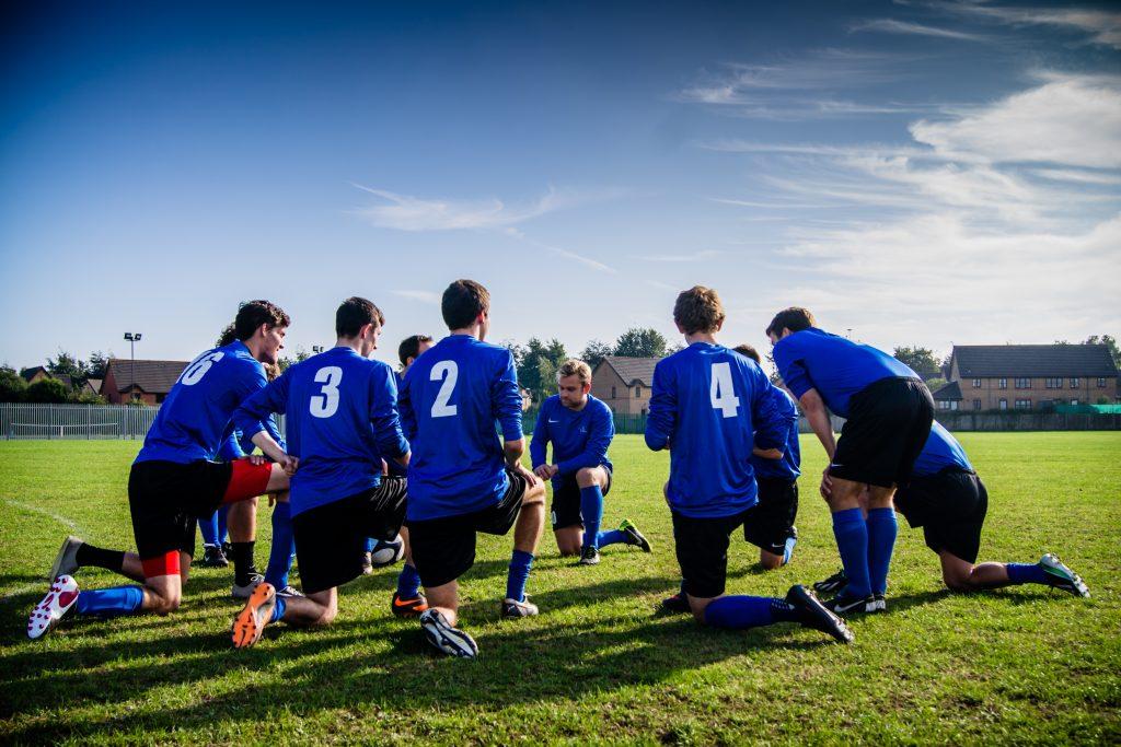 Ритуал в спорте на примере футбольной команды