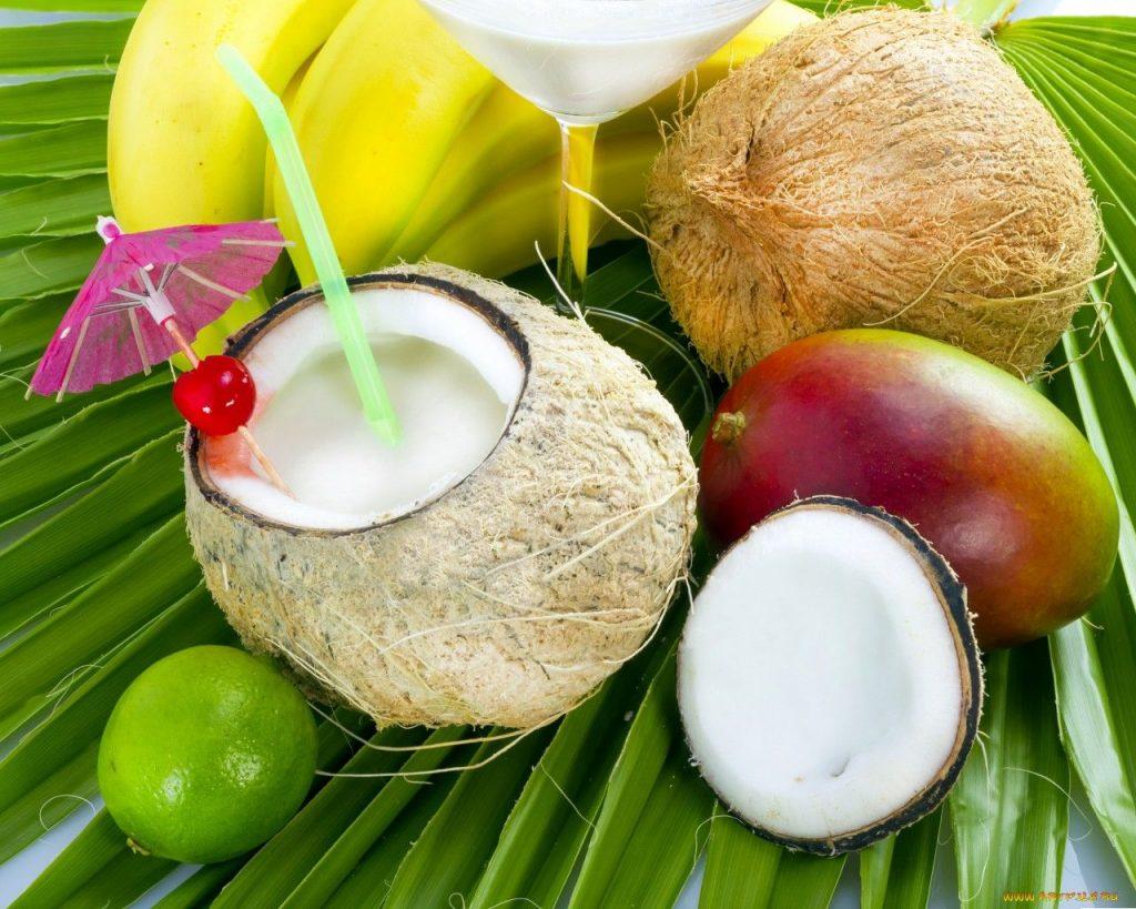 преимущества и полезные свойства кокосовая вода