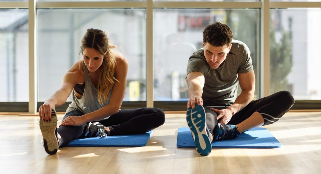 разминка делает в будущем отдых между тренировками более эффективным