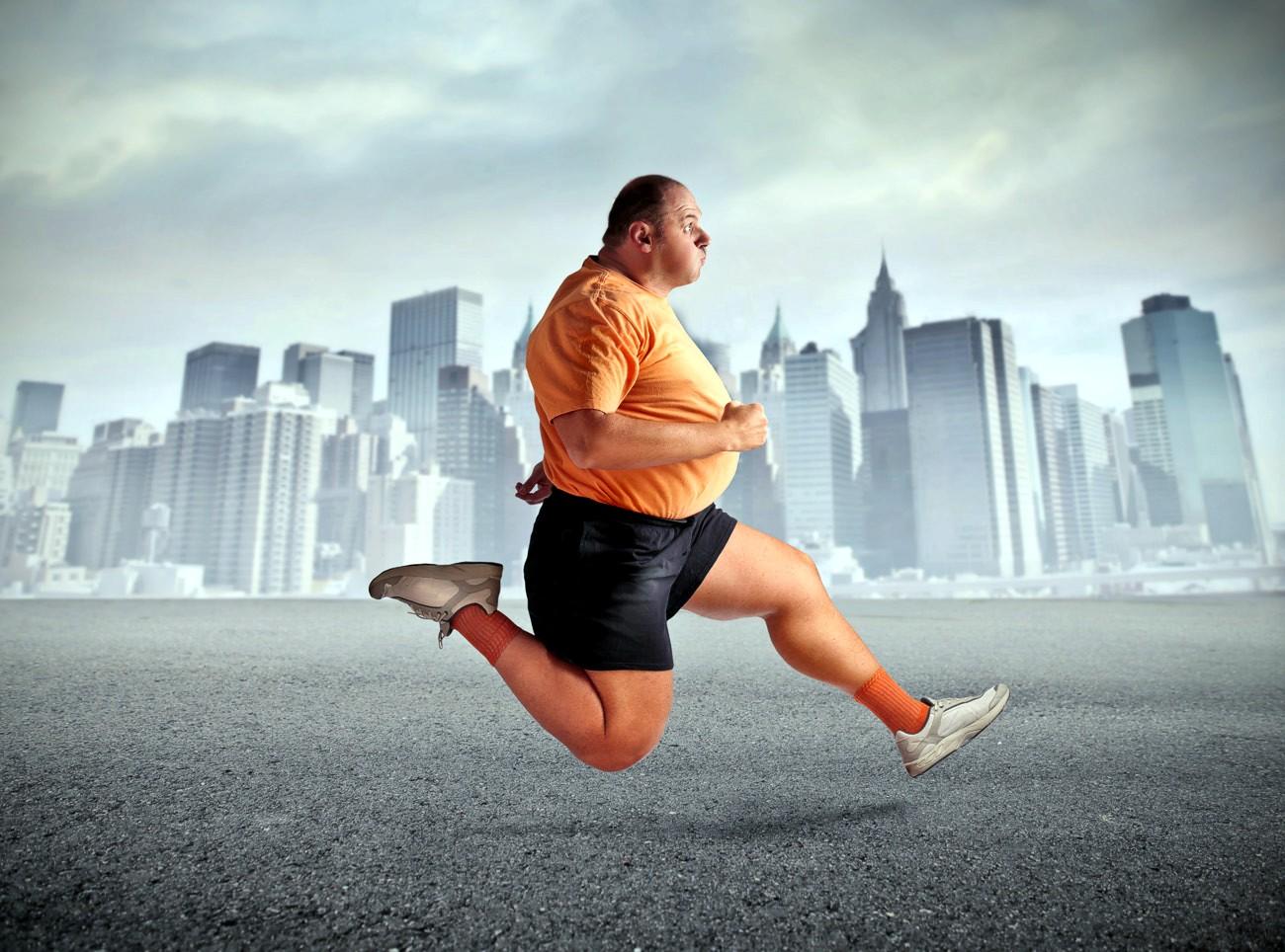 Смешные картинки бегущий мужик