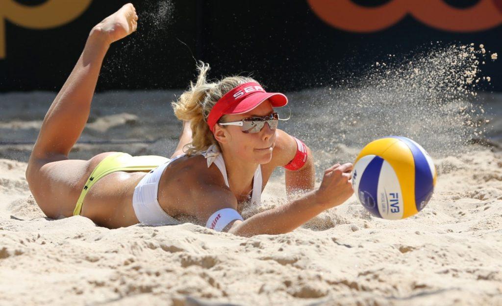 Пляжный волейбол хорошо влияет на здоровье суставов и связок