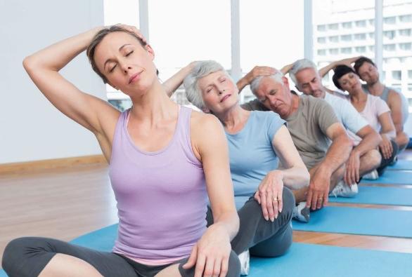 фитнес после 40 лет помогает замедлить процесс старения