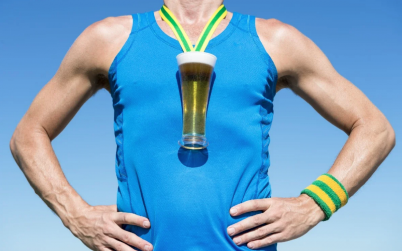 пиво и тренировки