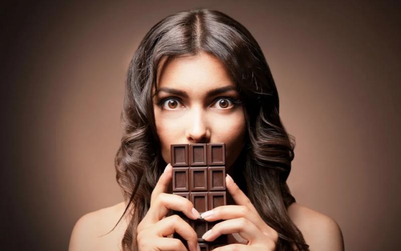 Насколько калорийный шоколад