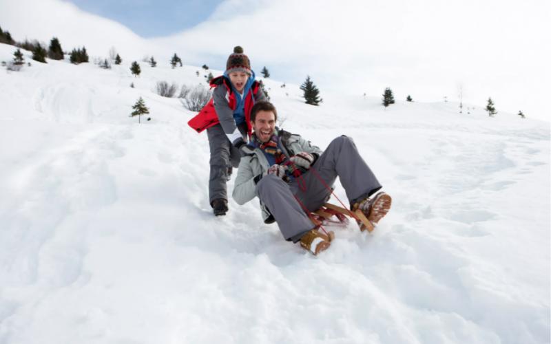 каким должен быть активный отдых зимой