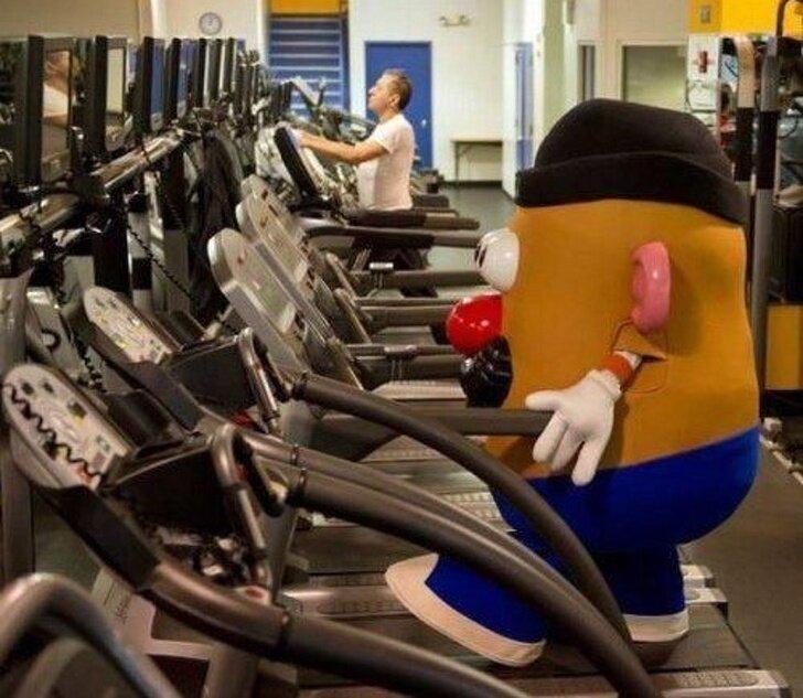 10 самых забавных и странных вещей в спортзале, что я видел